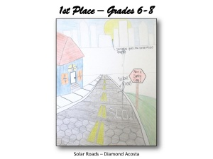 Solar Roads-First Place Grades 6-8