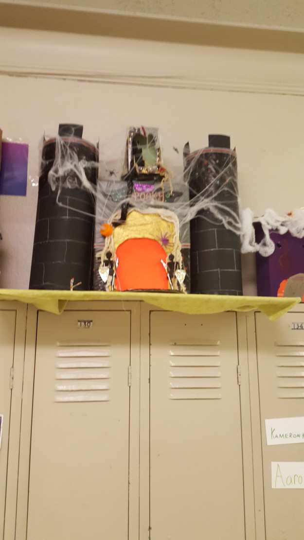 Recycle Haunted House